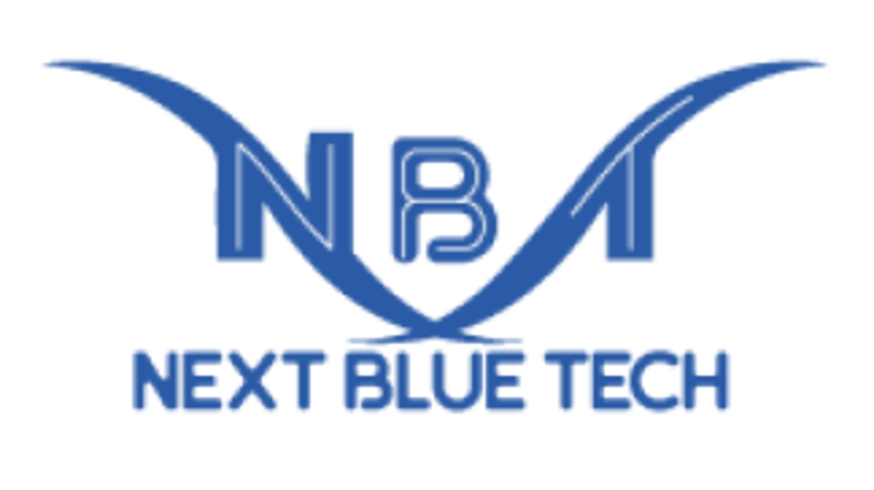 logo next blue tech