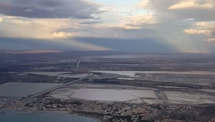 port camargue by plane copyright Julie PERSON