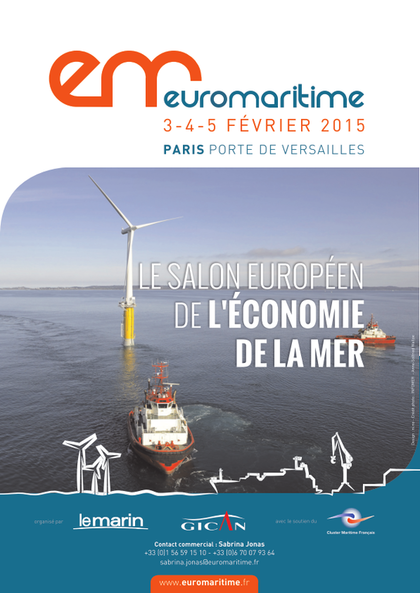 Salon euromaritime 2015 Paris